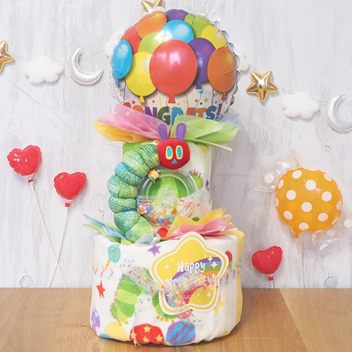 出産祝い おむつケーキ