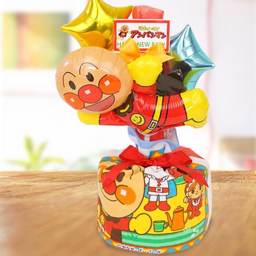 アンパンマンバルーンおむつケーキ