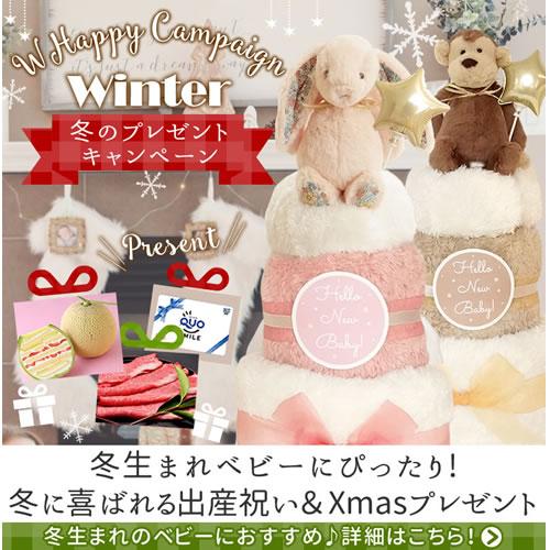 冬生まれベビーにぴったりの出産祝い&クリスマスプレゼント特集はこちら
