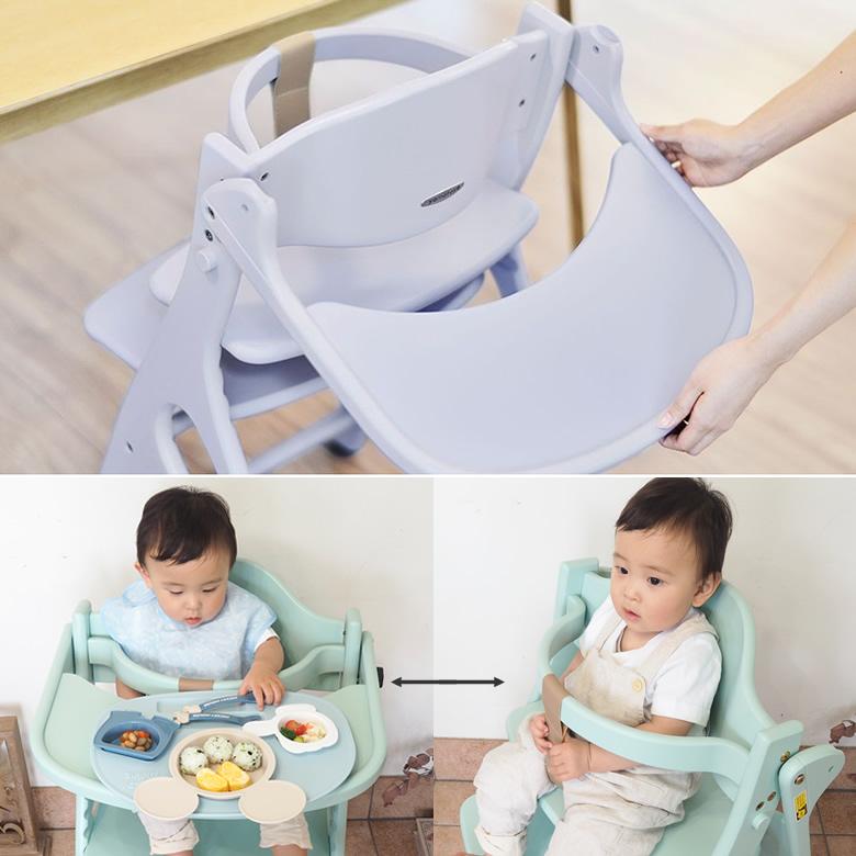 アッフルチェアは調整力抜群!赤ちゃんから大人まで座れる!