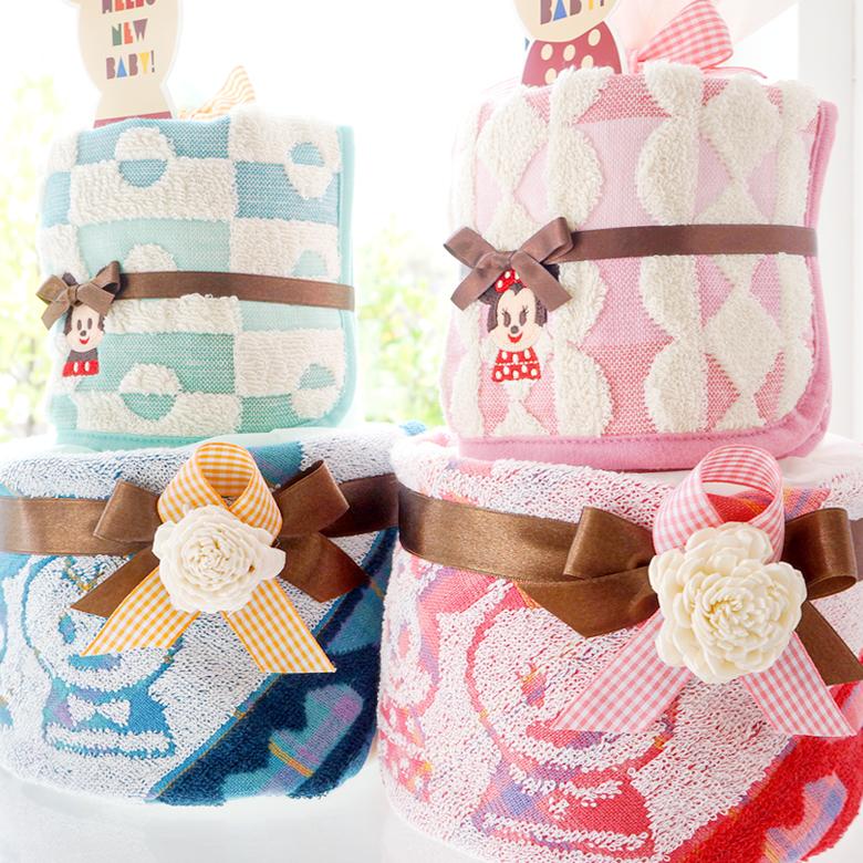 可愛さ&特別感いっぱいのおむつケーキ