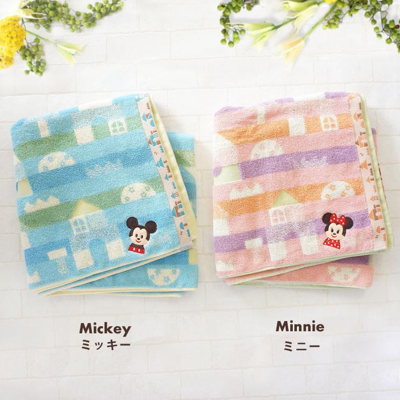 可愛らしいミッキー・ミニーの2タイプ