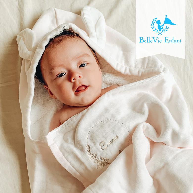 ベルビーアンファン シンプルでおしゃれな赤ちゃんのためのはじめてのタオル