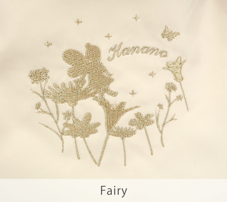 6種類の刺繍デザイン、フェアリー